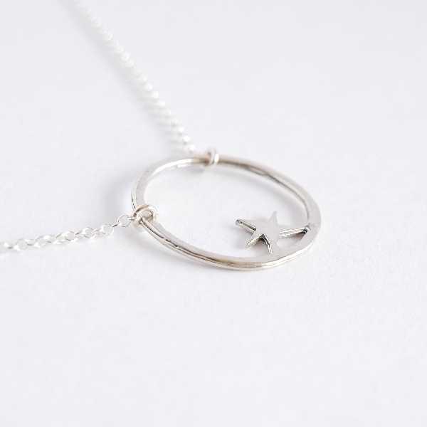 Sterling silver Nova star adjustable necklace Desiree Schmidt Paris Nova 45,00€