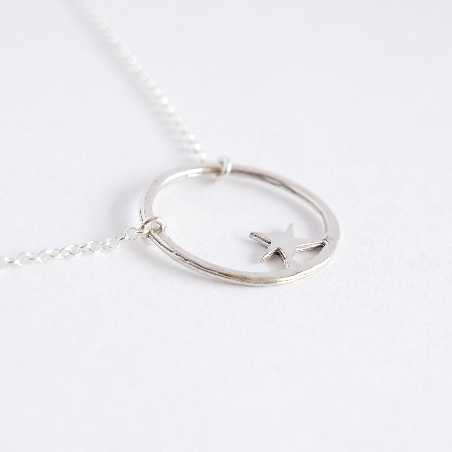 Sterling silver Nova star necklace  Nova 45,00 €