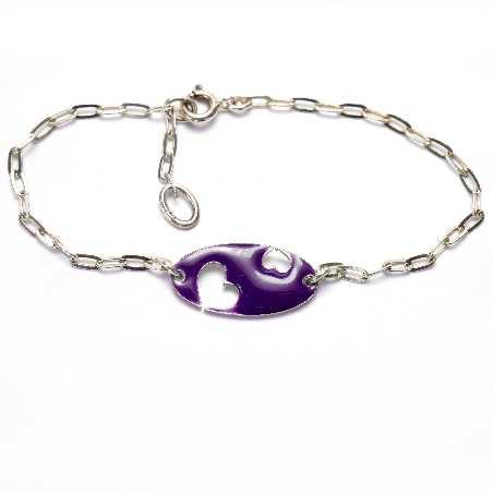 Violettes Valentine Herz Armband aus Sterling Silber Valentine 59,00€