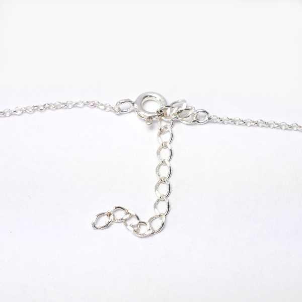 Adjustable necklace flower of Japan silver 925 made in France Desiree Schmidt Paris Sakura 47,00€