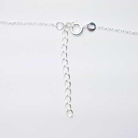 woman necklace silver 925 flower made in France Desiree Schmidt Paris Sakura 35,00€