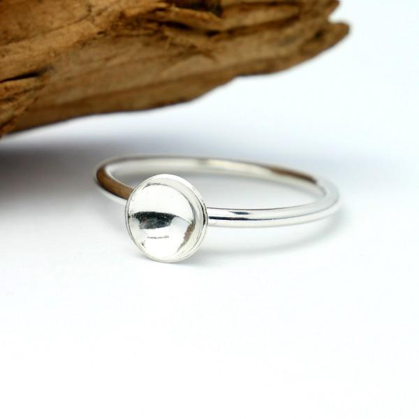 Minimalistischer kleiner Sterling Silber Rind  MIN 23,00€