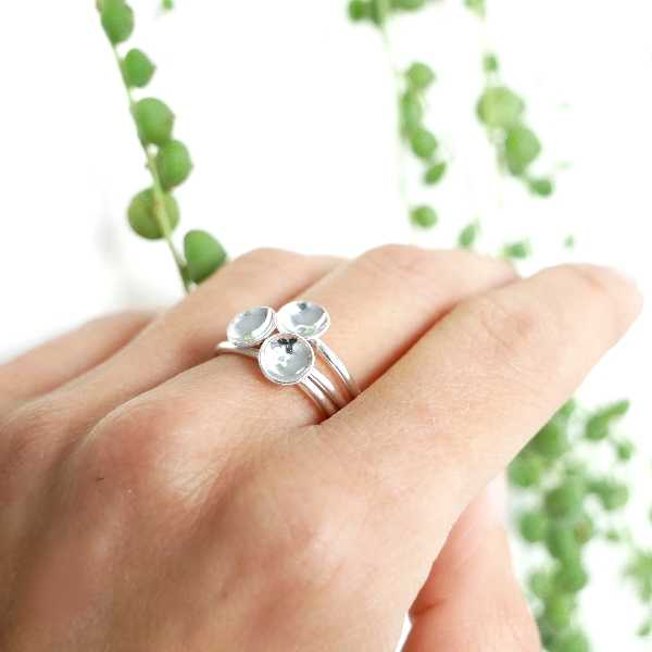 Sterlind silver heart minimalist ring MIN 23,00 €