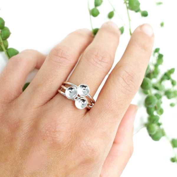 Sterlind silver star minimalist ring  MIN 23,00€