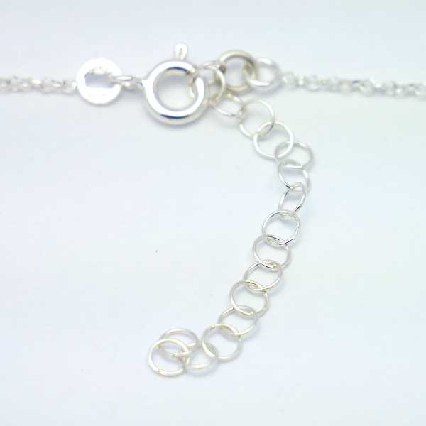 Sterling silver minimalist necklace with star MIN 27,00 €