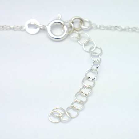 Sterling silver minimalist necklace with heart  MIN 27,00 €