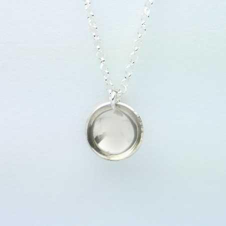 Sterling silver minimalist necklace Desiree Schmidt Paris MIN 27,00€