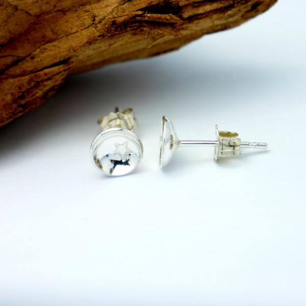 Sterling silver minimalist star earrings MIN 25,00€