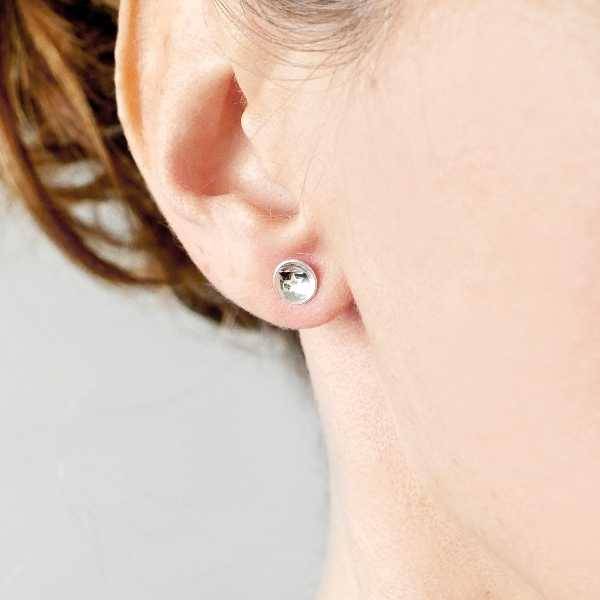 Sterling silver minimalist star earrings  MIN 25,00 €