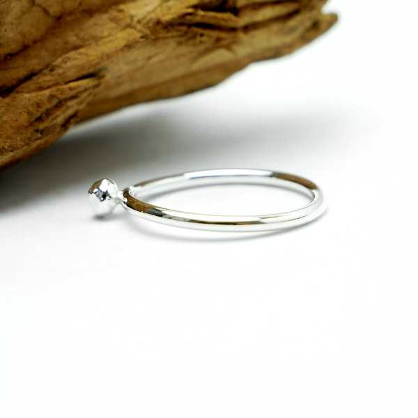S.50 - Little sterling silver Nugget ring Size 50 ( US5 1/4) Nuggets 27,00 €