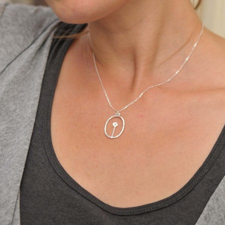 Winter Garden small reversible necklace. Sterling silver. Desiree Schmidt Paris Winter Garden 57,00€