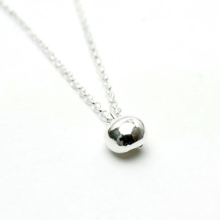 Sterling silver necklace with Nugget pendant  Necklaces 27,00 €