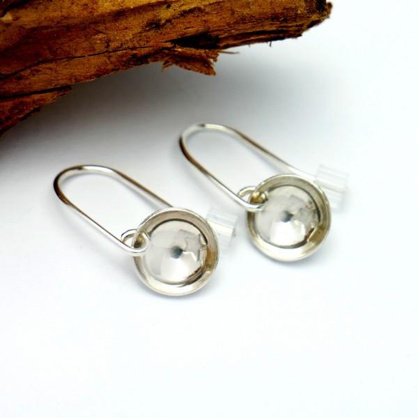 Boucles d'oreille etoile pendente minimaliste en argent 925  Boucles d'oreilles 30,00€