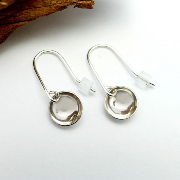 Boucles d'oreille pendente minimaliste en argent 925  MIN 30,00€