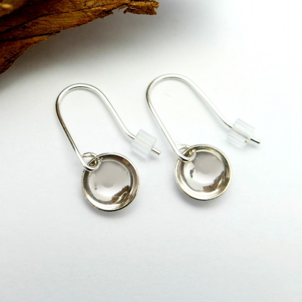 Minimalistische lange Sterling Silber Ohrringe  MIN 30,00€