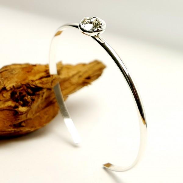 Minimalistischer wunerschöner Sterling Silber Armband  Nuggets 47,00€