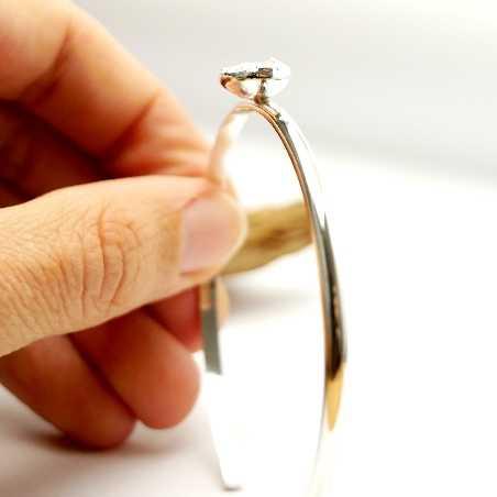 Superbes bracelet pièce unique Pépites en argent 925  Pépites 47,00€