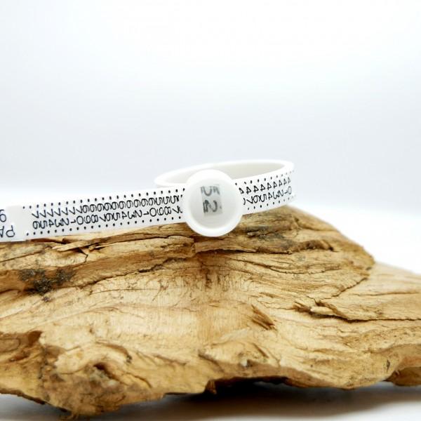 Baguier réutilisable tailles françaises pour mesurer la taille de vos doigts Sakura 2,00€
