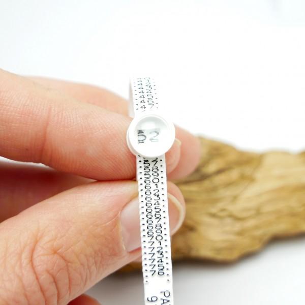 Reusable Multisizer Ring Gauge french sizes Sakura 2,00€