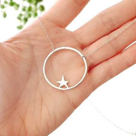 Nova star necklace. Sterling silver. M Nova 59,00€