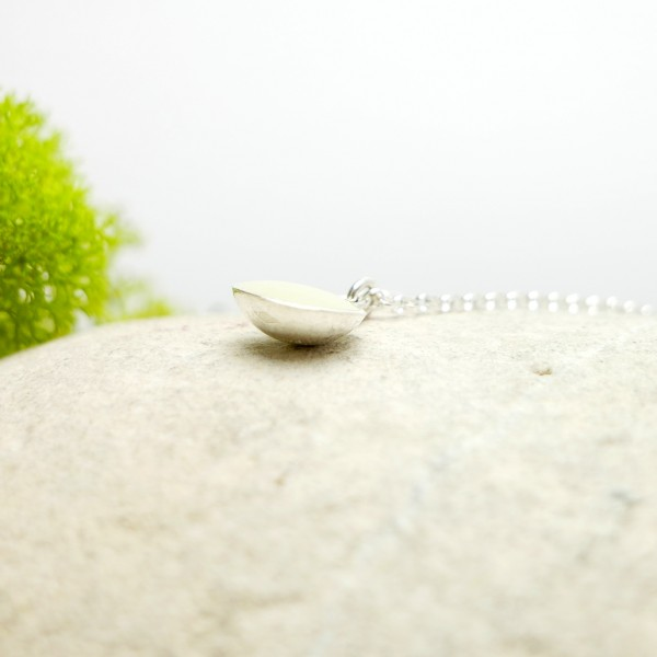 Star Dust sterling silver long necklace