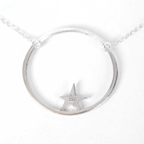 Nova star necklace. Sterling silver. M  Nova 59,00 €