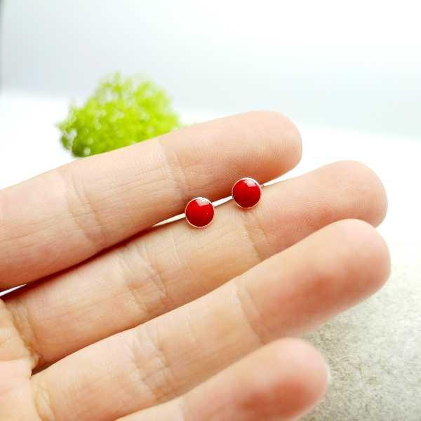 Kleiner Sakura Blume Sterling Silber Ring Sakura