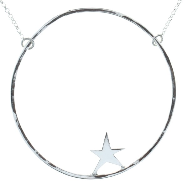 Nova star necklace. Sterling silver. XL  Nova 77,00 €