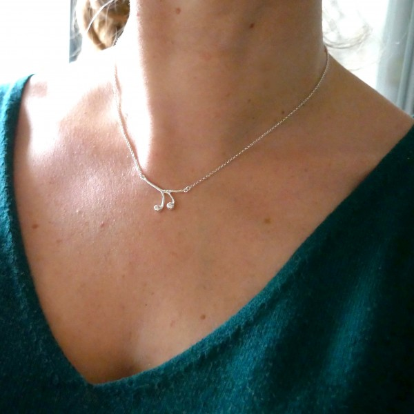 Solanum Sterling Silber Halskette Desiree Schmidt Paris Startseite 65,00€