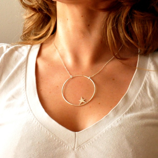 Sterling silver Nova star adjustable necklace Desiree Schmidt Paris Nova 77,00€