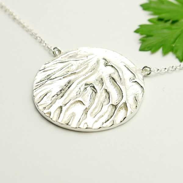 Adjustable sterling silver necklace  Herbier 87,00 €