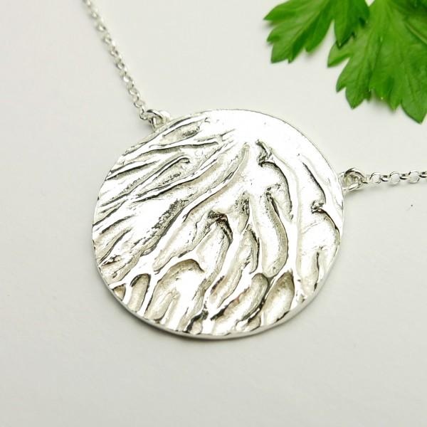 Schöne Sterling Silber Halskette Desiree Schmidt Paris Herbier 87,00€