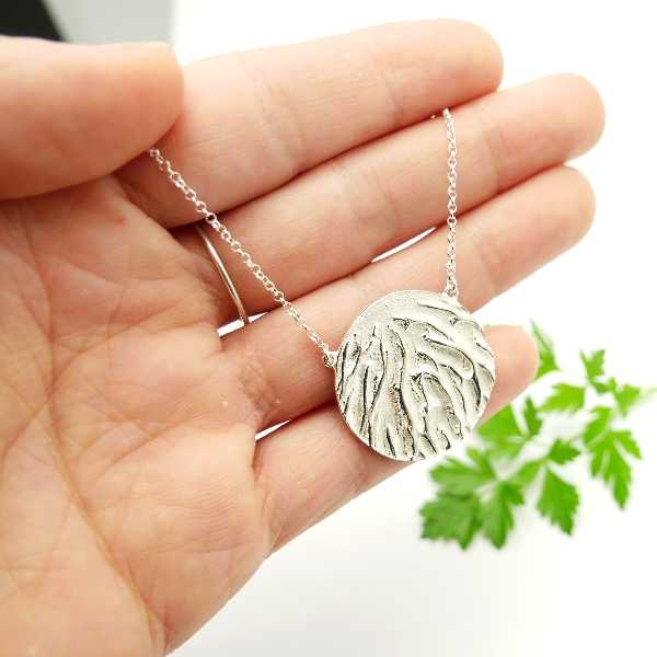 Adjustable sterling silver necklace  Herbier 87,00€