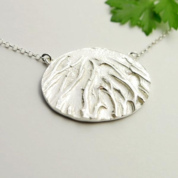 Schöne Sterling Silber Halskette  Herbier 87,00€