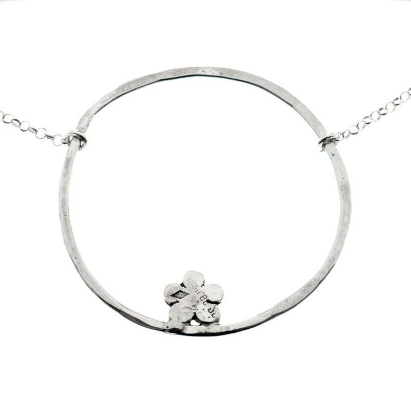 Kilt small necklace. Sterling silver. Kilt