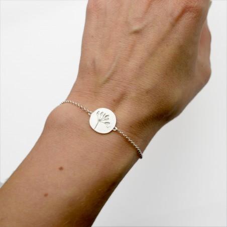 Sterling Silber Wildblumen Armband Herbier 57,00€