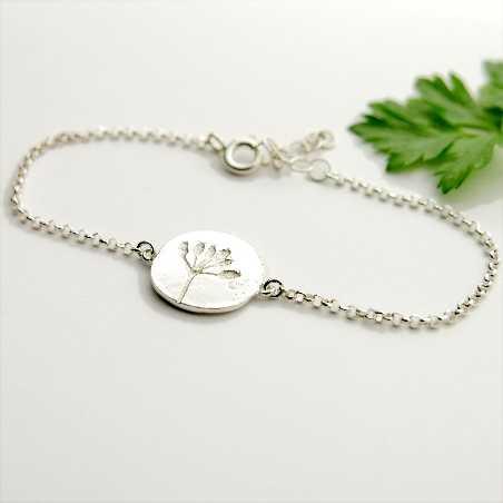 Kleine Litchi Halskette aus Sterling Silber