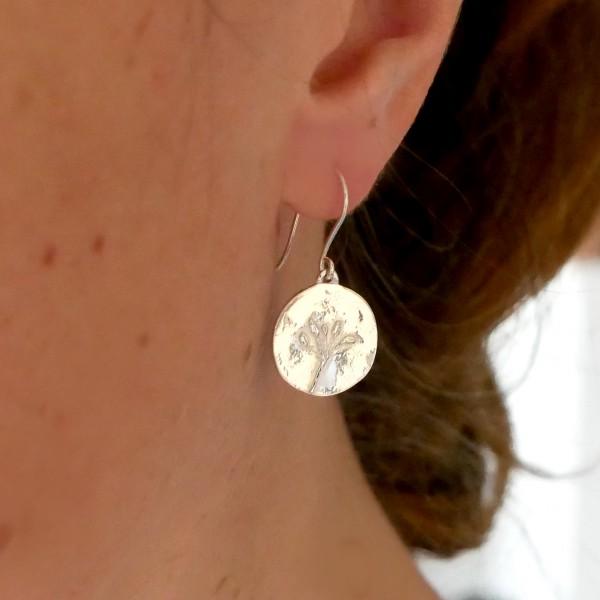 Boucles d'oreilles Herbier en argent 925  Herbier 75,00€
