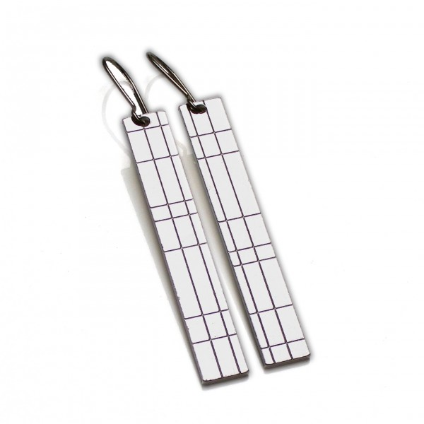 Kilt pendant earrings. Sterling silver.  Kilt 77,00 €