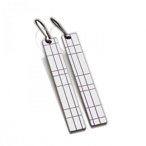 Kilt pendant earrings. Sterling silver. Kilt 67,00€