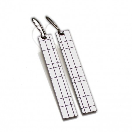 Kilt pendant earrings. Sterling silver. Kilt 67,00 €