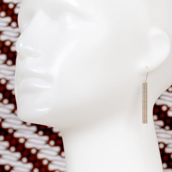 Boucles d'oreilles pendantes Kilt en argent massif  Kilt 77,00€