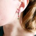 Minimalistische kleine Sterling Silber Stern Halskette MIN