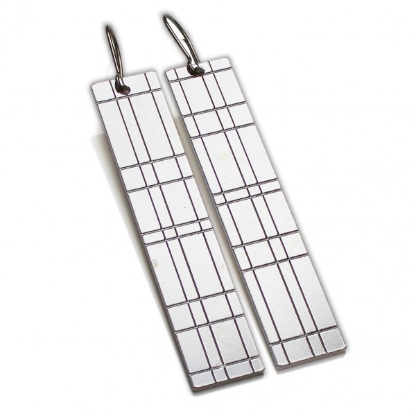 Kilt long pendant earrings. Sterling silver. Kilt 97,00 €