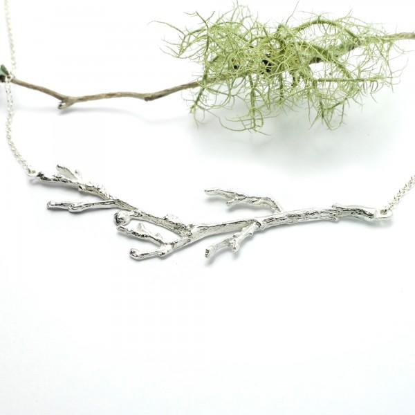 Branch sterling silver adjustable necklace Desiree Schmidt Paris Eda 87,00€