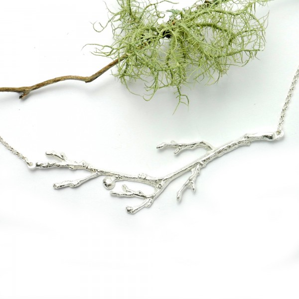 Branch sterling silver necklace  Eda 87,00 €