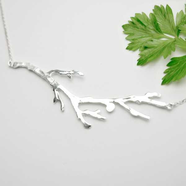 Branch sterling silver necklace  Eda 87,00€