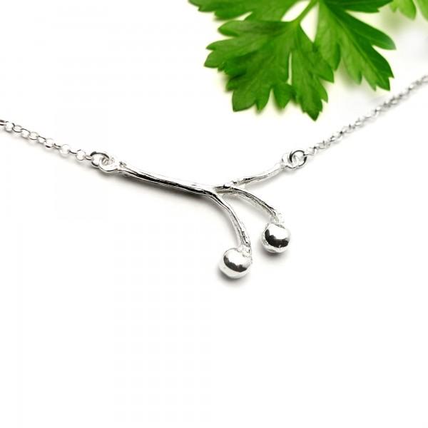 Solanum Sterling Silber Halskette  Startseite 65,00€