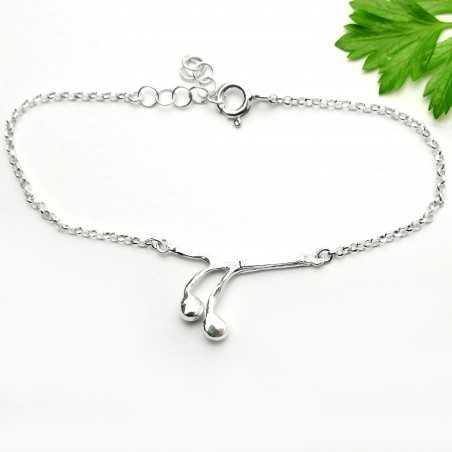 Solanum Sterling Silber Armband Startseite 65,00€