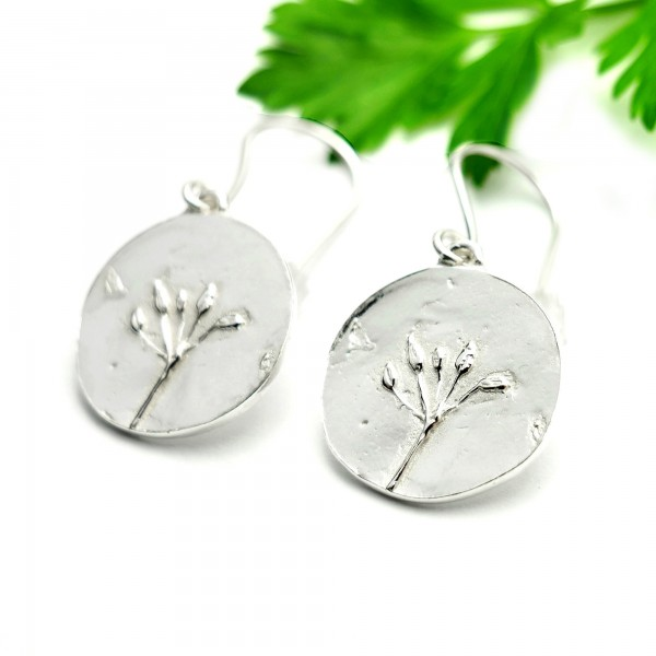 Herbarium sterling silver earrings Herbier 75,00 €